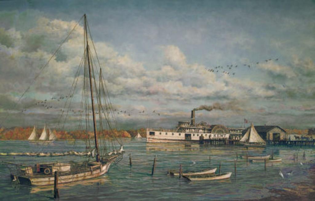 Bay Ridge Ferry Pier circa 1900
